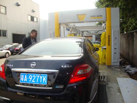 Brushless Tunnel Car Wash System Automatic With High Air Drying