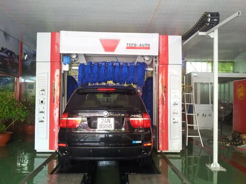 TEPO-AUTO car wash tunnel equipment