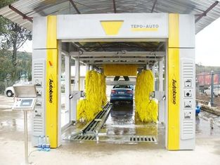 Chiny CE ISO9001 swing arm Automatic Car Wash Machine streamline cleaning principle dostawca