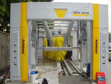 Chiny Brushless Tunnel Car Wash System Automatic With High Air Drying dostawca