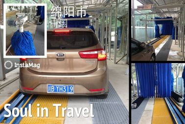 Chiny Autobase Tunnel Car Wash System Effective Comfortable For Wrap Cleaning dostawca
