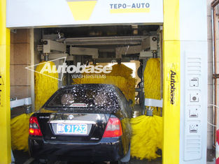 Chiny TEPO-AUTO TUNNEL CAR WASH with high speed washing 60-80 cars per hour dostawca