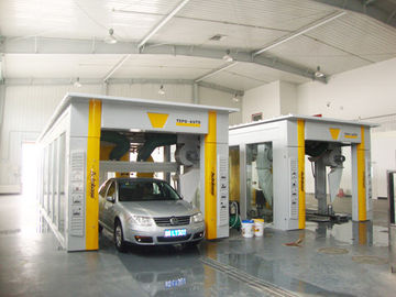 Chiny Tunnel-type Automatic Car Washing Machine For Washing 600 - 800 Cars Per Day fabryka